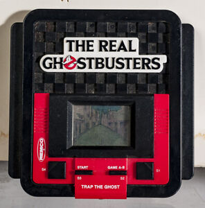 Ghostbusters 1980s Handheld Video Game