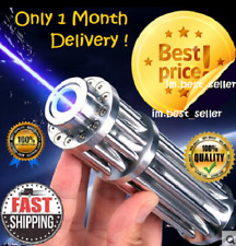 Hot! High Power 5000000M Blue Laser Pointers 450Nm Lazer Flashlight Burning Matc