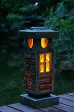 "20"" height Japanese style lantern Solar garden lamp  Handmade Solar light"