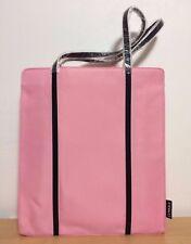 Pink Clinique Tote Bag, Shopper, Beach Bag Medium Size NEW 13x15x4
