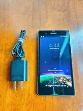 "Sony Xperia Z C6606 16GB Black T-Mobile 13.1MP 2GB 5.0"" IP57 1080p Smartphone"
