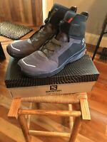 Salomon Hiking Shoes T-Max WR. Mens Size 12