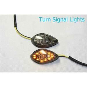 Smoke LED Flush Mount Turn Signal for honda CBR 919 600 F3 F4 F4i 600RR 1000RR