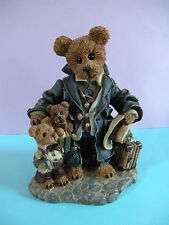 """1997 Boyds Bears & Friends Limited Edition """"Uncle Gus and Gary. The Gift"""""""