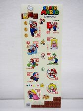 Super Mario Greeting Stamp set 2017 Limited Nintendo Japan Post in stock F/S