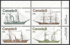 Canada  # 670 - 673 URpb   Coastal Vessels  Brand New 1975 Pristine Issue