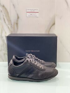 tommy hilfiger scarpe Uomo Sneaker Casual Grigio 40