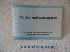 1x Universal Inspektion Serviceheft Wartungsheft Scheckheft Mercedes geeignet