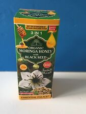 Organic Moringa Honey With Black Seed Immune Booster. 3 In 1 BUY 2 GET1 50% OFF