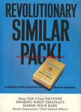 Benson & Hedges Revolutionary Similar Pack 1992 Advert #639