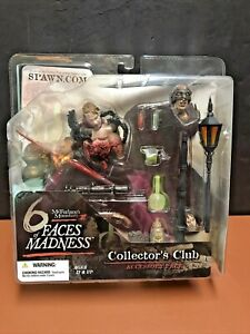 Mcfarlane Monsters III 6 Faces of Madness Collector's Club Accessory Pack Sealed