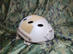 Ops Core FAST Carbon Bump Helmet  L / XL multicam painted tan :(  large x large