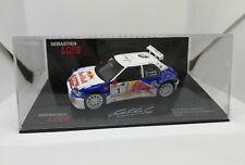 1/43 Peugeot 306 Maxi Loeb Rally Haute Provence 2017 Altaya France Red Bull