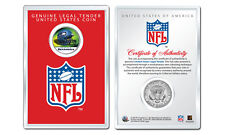 SEATTLE SEAHAWKS NFL Helmet JFK Half Dollar Coin w/ NFL Display Case LICENSED