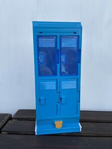 Super Hero Girls Action Figures Locker with Sound - Used