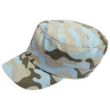 Kids Army Cadet Hat Flat Camouflage Baseball Peak Cap Children Girl Boy, Li K3R5