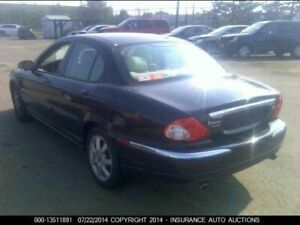 Trunk/Hatch/Tailgate Sedan Without Spoiler Fits 02-08 X TYPE 40812