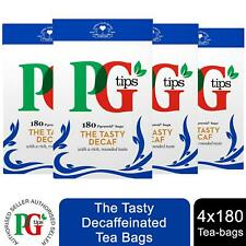 PG Tips The Tasty Decaf with a Rich, Rounded Taste, 4 Pack of 180bags