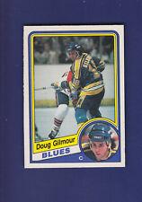 Doug Gilmour RC HOF 1984-85 O-PEE-CHEE OPC #185 (NM) St. Louis Blues