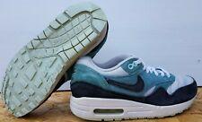 Nike Air Max 1 Essential WMNS 'Polvoriento Gris Negro' Mineral Verde Azulado UK 4 (5993820-002)