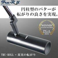 Tru Roll TR-i Crankneck Black PVD Finish Putter 34 inch Steel shaft Japan F/S