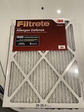 Filtrete 20x25x1 Mpr 1000 Ac Furnace Air Filter 2 Pcs