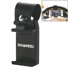 Universal HAWEEL Car Steering Wheel Phone Mount Holder for iPhone& Android Phone