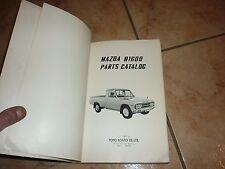 MAZDA B1600 PARTS CATALOG manuel d'atelier année 1974 en Anglais