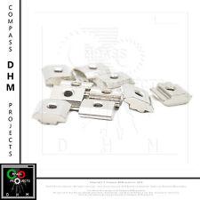 10 x Dadi di pre-montaggio M5 Serie 6 profilo alluminio profilato estruso CNC