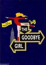 "Bernadette Peters (Signed) ""GOODBYE GIRL"" Martin Short 1993 Souvenir Program"