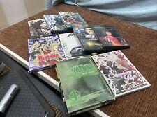 Rare Anime Dvd Lot Of 9 Samurai Champloo Strawberry Panic Spirited Away Rumble
