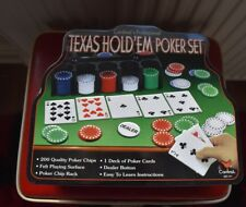 "TEXAS HOLD""EM POKER SET"