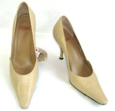 CHARLES JOURDAN Escarpins talons 8.5 cm cuir beige 8 = 39 TRES BON ETAT