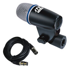 JTS TX-6 Dynamic Supercardioid Guitar + Instrument Wired Microphone + Mic Lead