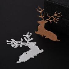 sitting deer stag cutting die, cardmaking, scrapbooking, DIY crafts