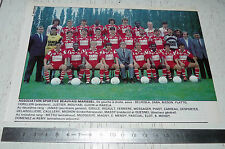 CLIPPING POSTER FOOTBALL 1988-1989 AS BEAUVAIS MARISSEL ASBM