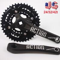 FMFXTR 3X10s 104/64bcd 24/32/42t Triple MTB Bike Crankset Crank set Chainring