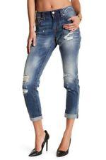 Miss Me Womens Size 29 BOYFRIEND Distressed Ankle Mid Rise Jeans JB5151A269
