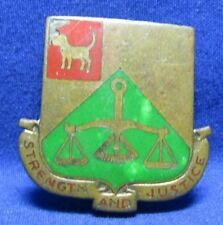 WWII 29th Division D-Day Normandy 175th Military Police BN DI Unit Crest Pin