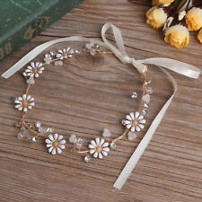 32cm Bridal Daisy Flower Hair Band Headband Headpieces Wedding Prom Jewelry New