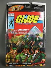 2006 GI Joe Comic 3 Pack CLASSIFIED Snake Eyes SGT Stalker Storm Shadow SEALED