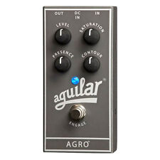New Aguilar Agro Overdrive Bass Guitar Effects Pedal - Free Priority Shipping