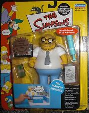 The Simpsons Interactive Figure, Series 10, Dr Marvin Monroe, Nib Toy Upc Gone
