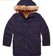 RRL Ralph Lauren Westerman Japanese Cotton Utility Parka Coat Jacket-MEN-XL