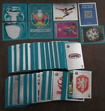 Panini EURO 2020 PREVIEW - complete STICKERS SET - all the 568 stickers - BLUE