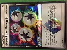 1x Super Boost Energy Prism - 136/156 - Holo Rare NM-Mint Pokemon SM06 - Ultra P