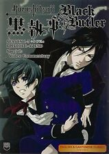 Black Butler Kuroshitsuji Complete Season 1-3+9 OVA Anime DVD English AUDIO FREE
