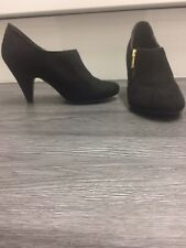2e995f13e3da New listing NEW LOOK  WOMEN S LOW HIGH HEELS FAUX SUEDE ANKLE BOOT PARTY  ZIP SIZE UK 5