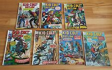 Kid colt outlaw # 144,145,148,149,150,151,155  low grade
