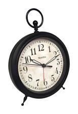 Westclox 4 in. Black Alarm Clock Analog Battery Operated